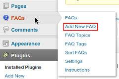 How to Create FAQ